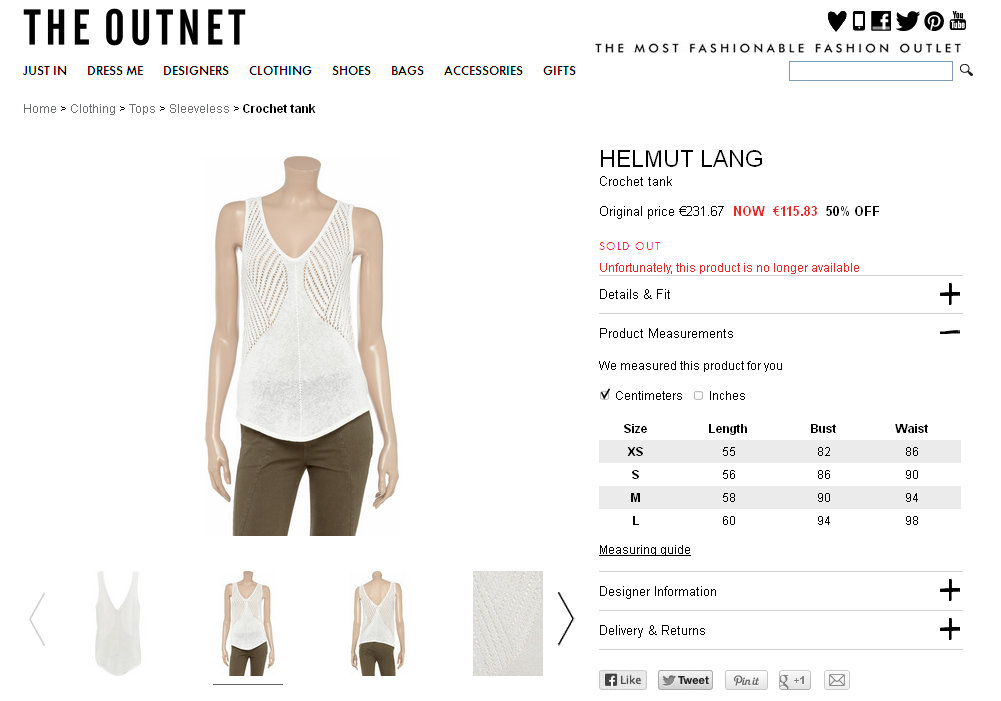 Helmut Lang Crochet tank - 50% Off Now at THE OUTNET - Mozilla Firefox 17.10.2013 80641.jpg