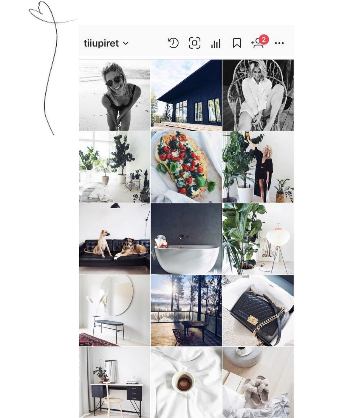 palautettu instagram- tili ja muistutus tietoturvasta