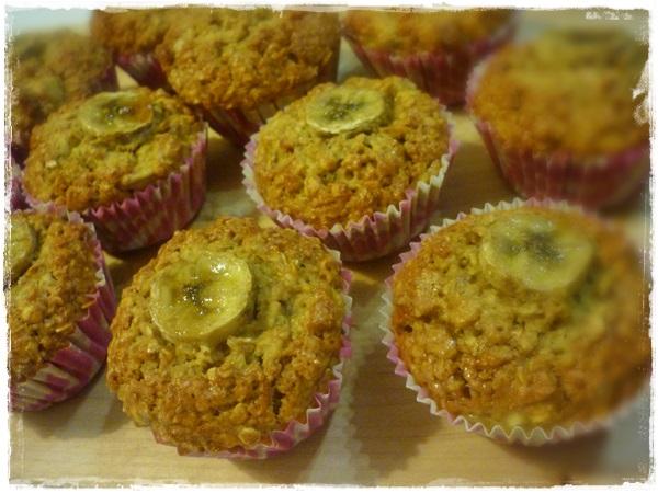 Mukaterveelliset banaanimuffinit