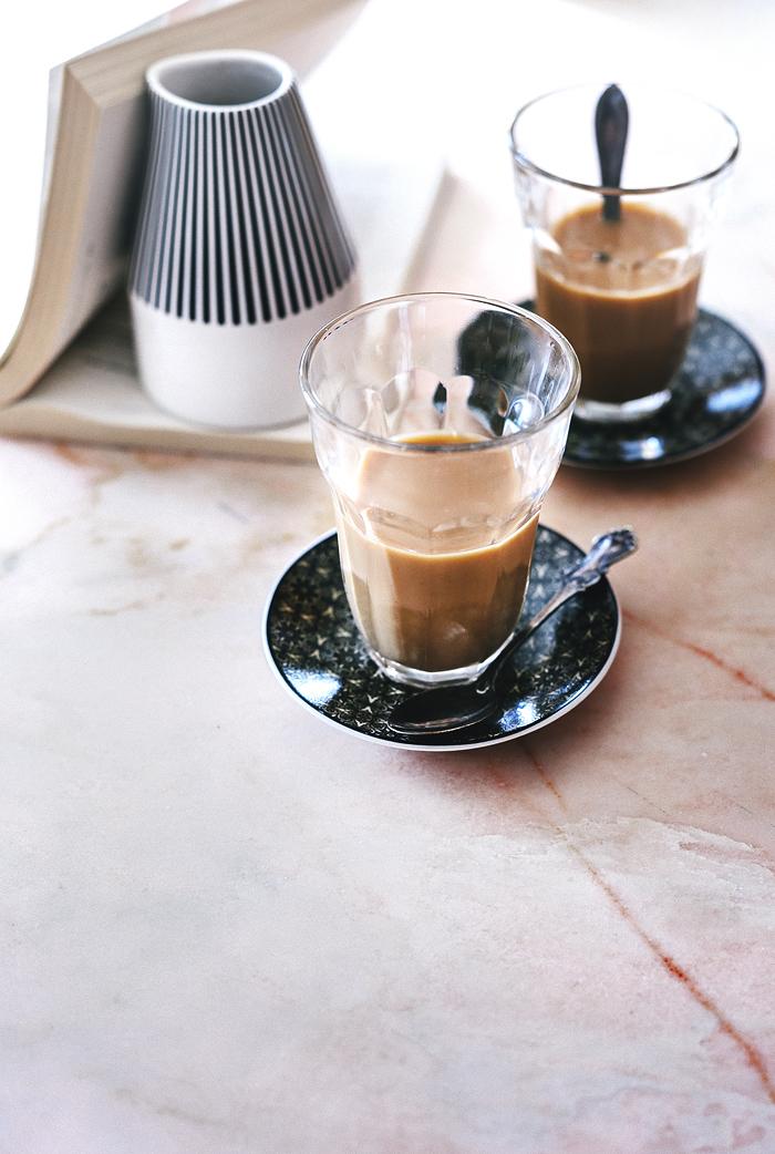 Lasissa juuri nyt / Cold brew coffee