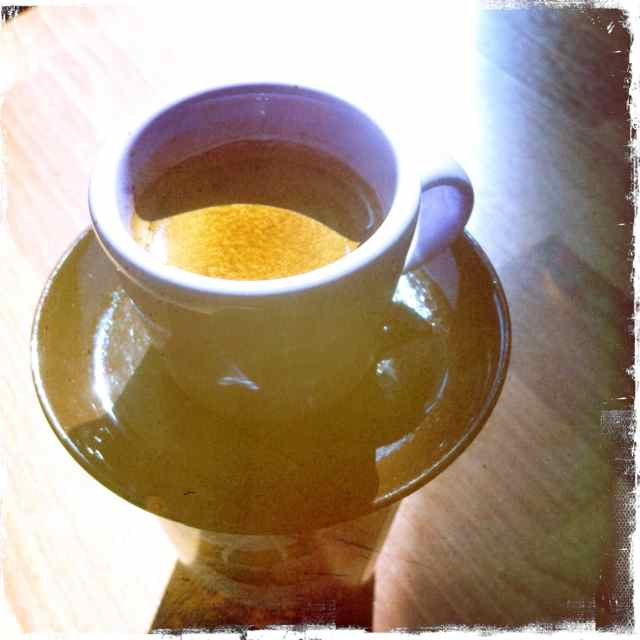 Näin juodaan espresso