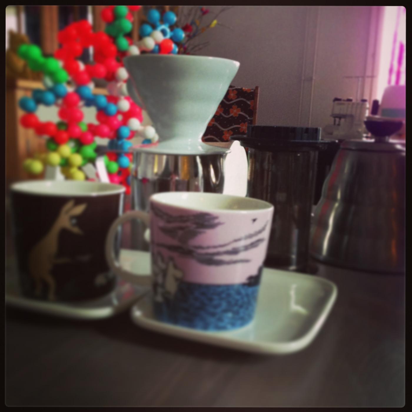 Yksi kahvi – kaksi menetelmää