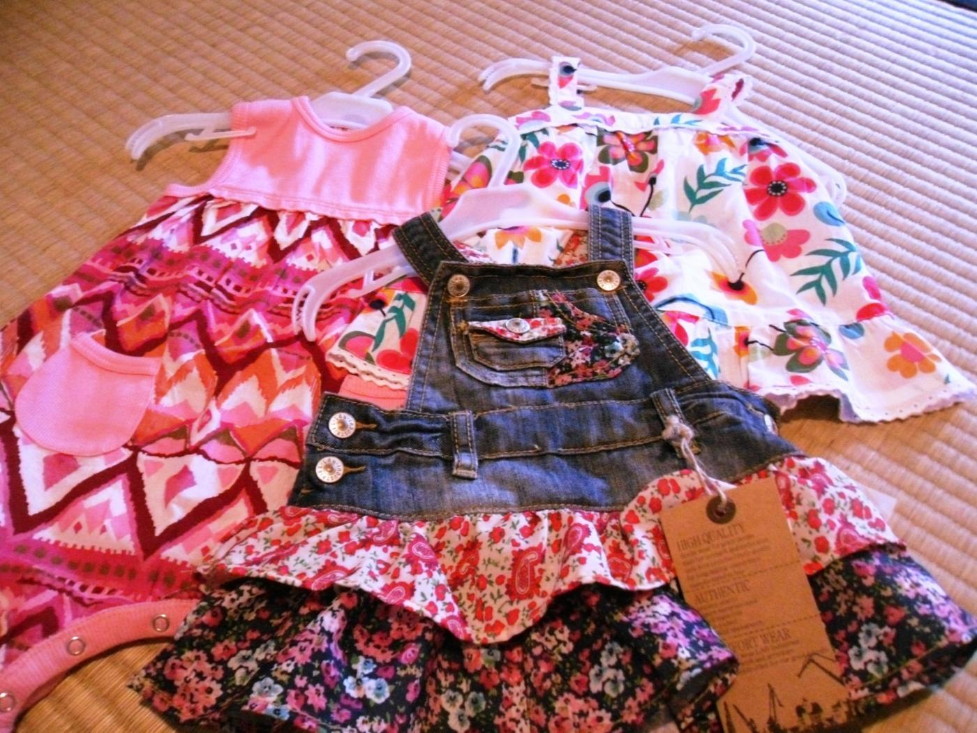 Babyn uudet vaatteet