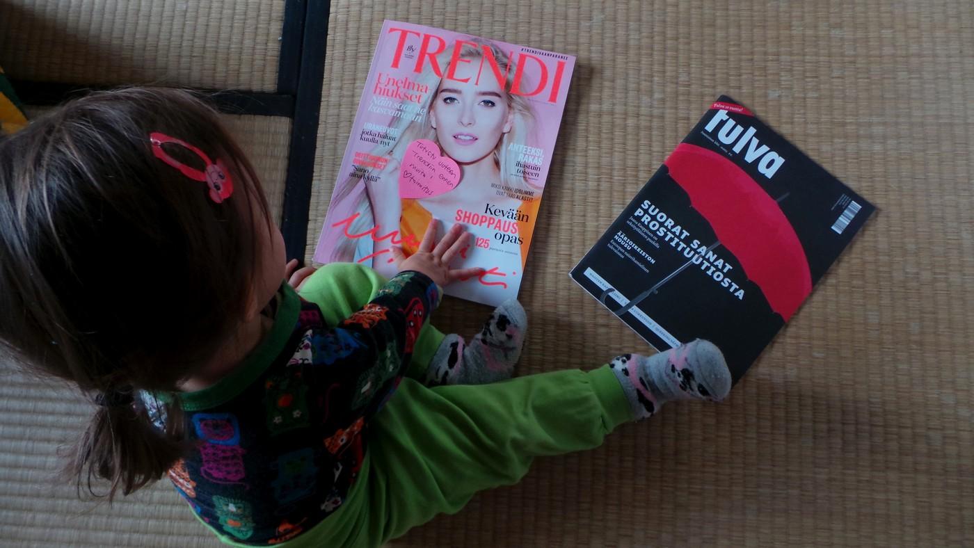 Kaksi naisten lehteä (ja pari sanaa feminismistä)
