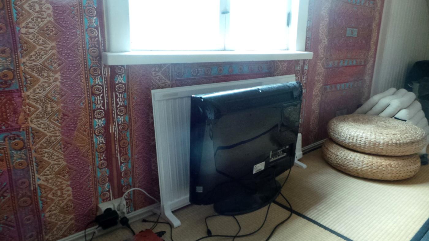 Tv:n paikka