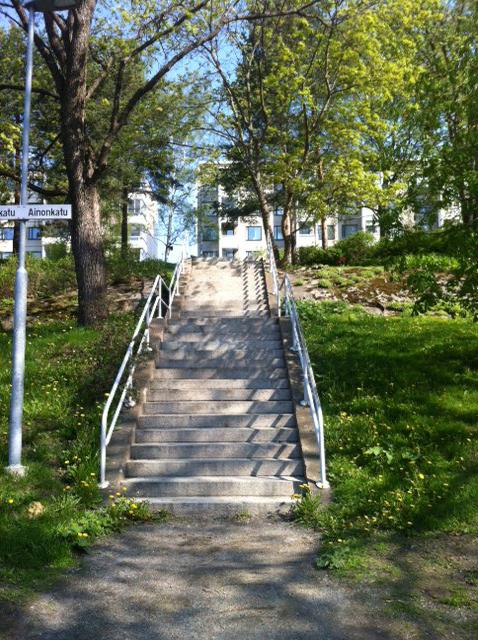 Treenipäiväkirja: Intervallitreeniä portaissa