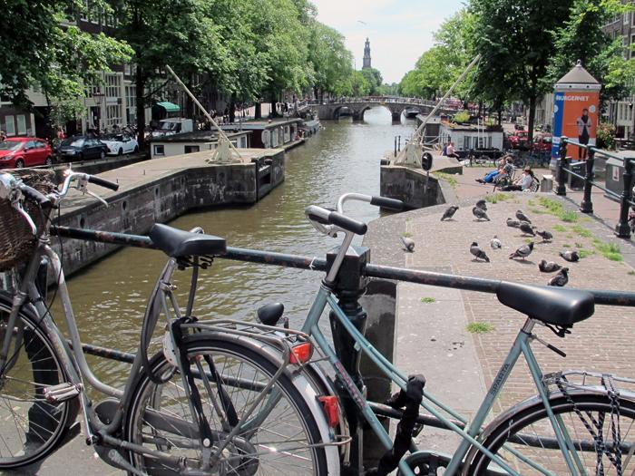 Amsterdam kuvina