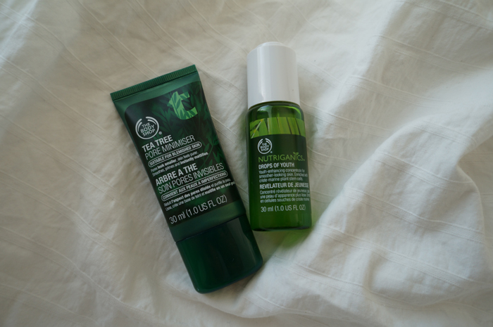 Testissä: The Body Shop Drops of Youth & Pore Minimiser