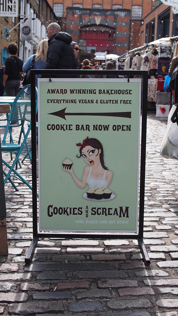 Viljaton Lontoossa – Cookies & Scream