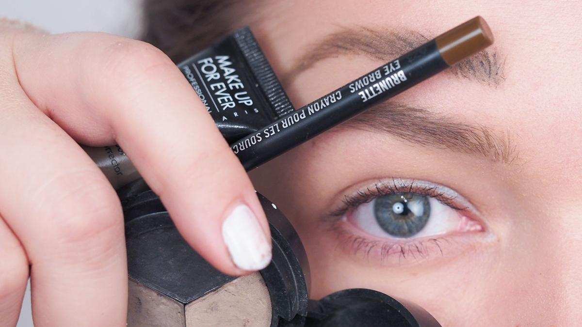 Close-up: Kulmakarvojen muotoilu eri tuotteilla