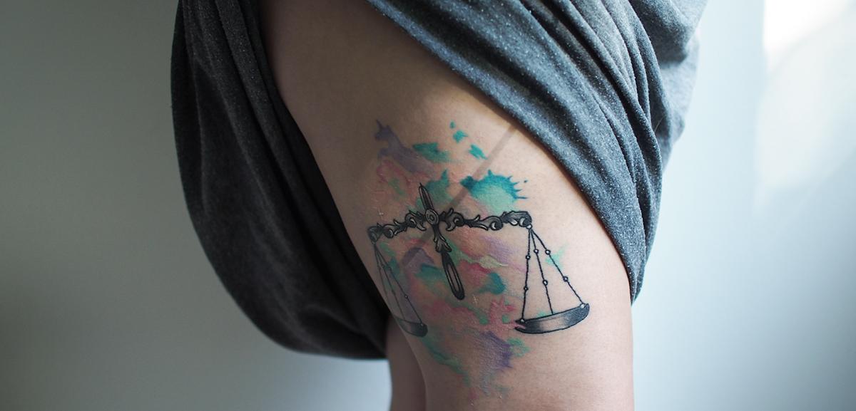 vaaka tatuointi
