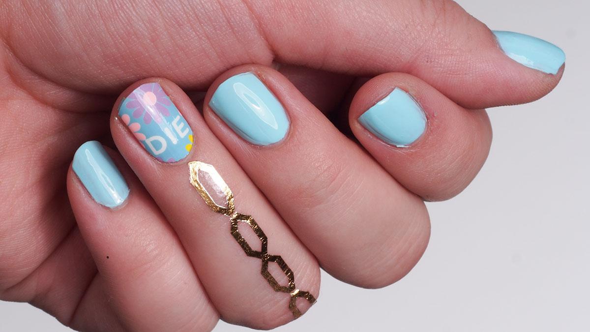 Liimattavaa kauneutta: Rad Nails + Flash Tattoos
