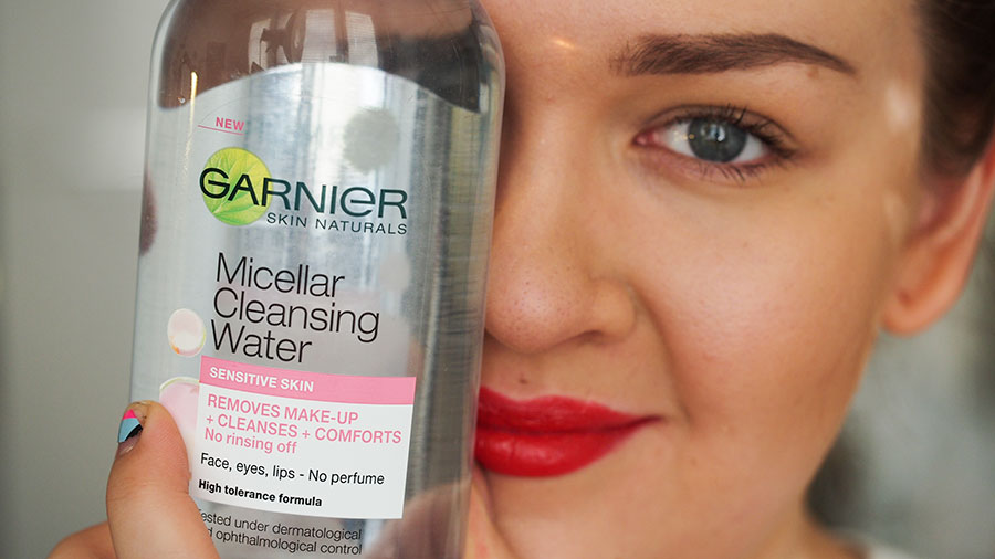 Meikkaajan paras ystävä – Garnier Micellar Cleansing Water