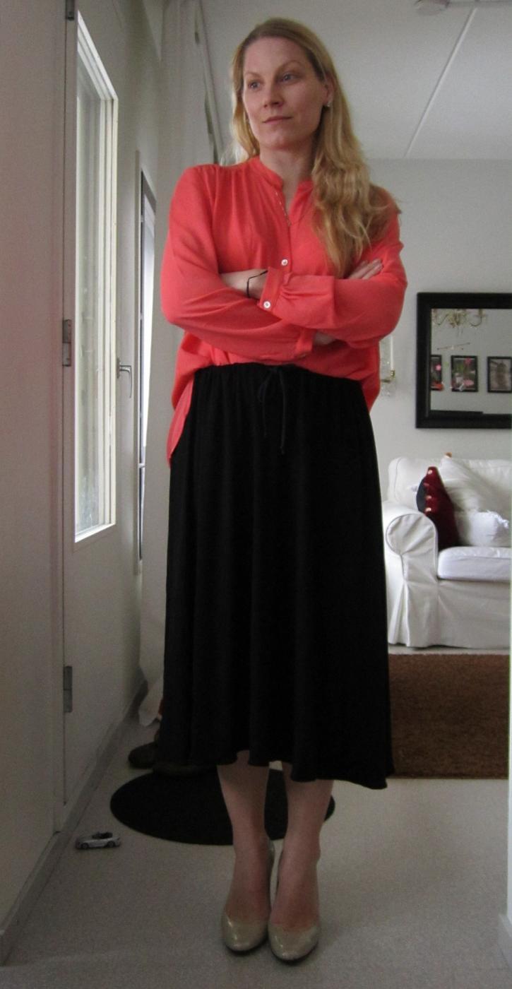 04/03/2013: DIY- Midi skirt