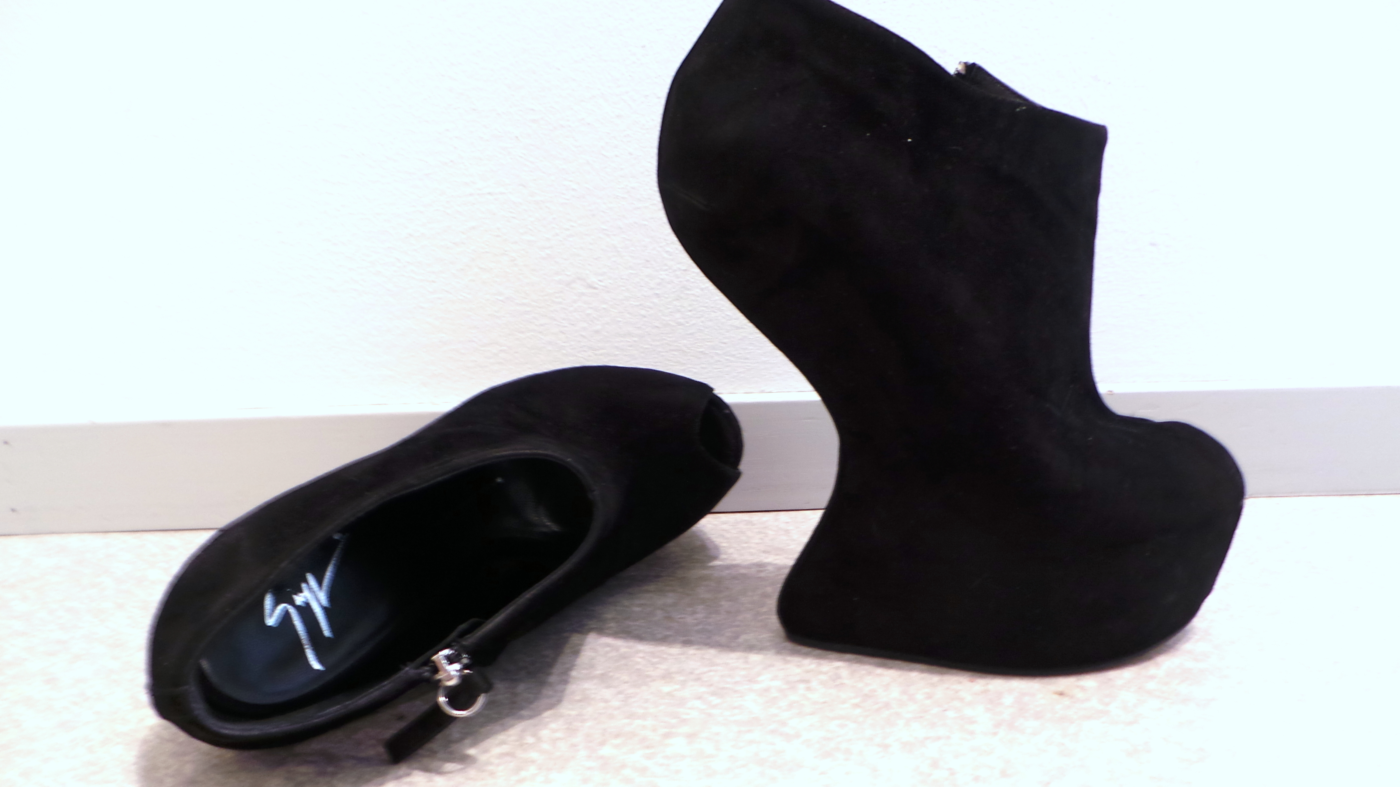 Meet my craziest shoe pair ever: Giuseppe Zanotti wedges