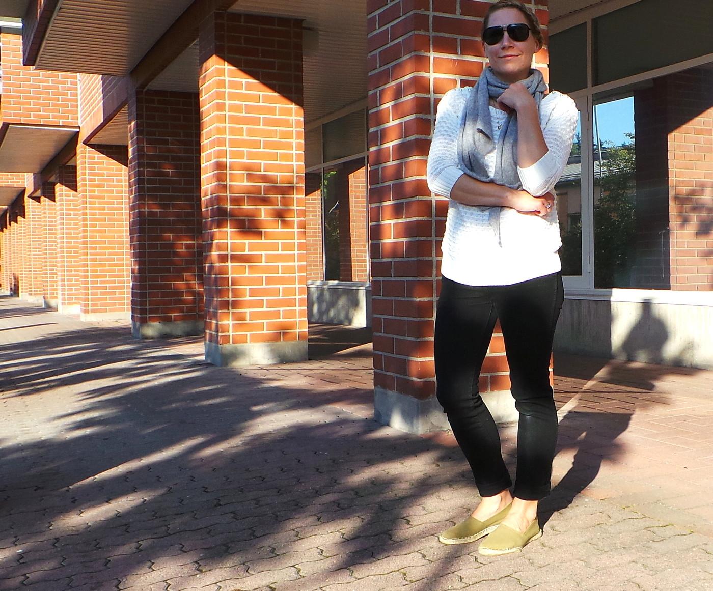Lilyn haasteviikko, Päivä 5: Simple look