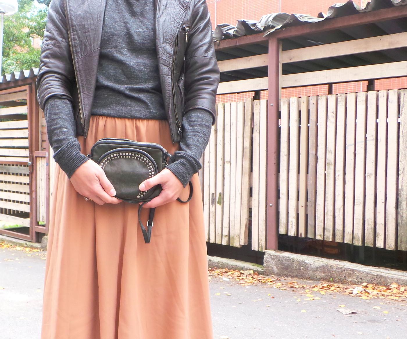 Lilyn haasteviikko, Päivä 7: Tulle skirt & Leather jacket