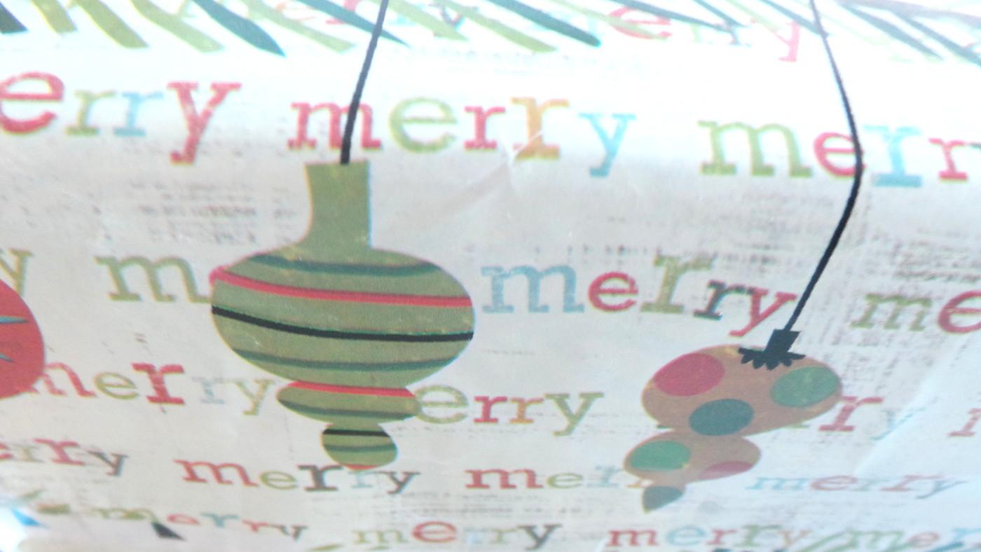 Salaisen blogiystäväni joulupaketti on saapunut