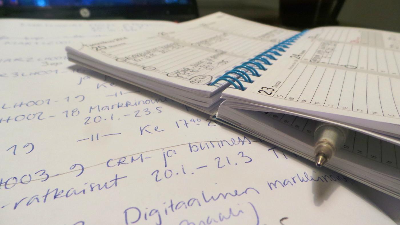 Opiskelua työn ohessa, Neuvoja kaivataan!