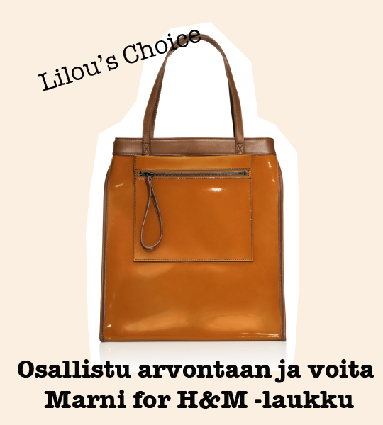 Tule, ihastu ja voita: Marni for H&M -laukku
