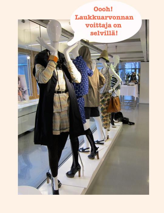 Marni for H&M laukkuarvonnan voittaja+showroom shots