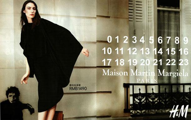 Maison Martin Margiela ja H&M -mainoskuvat julki