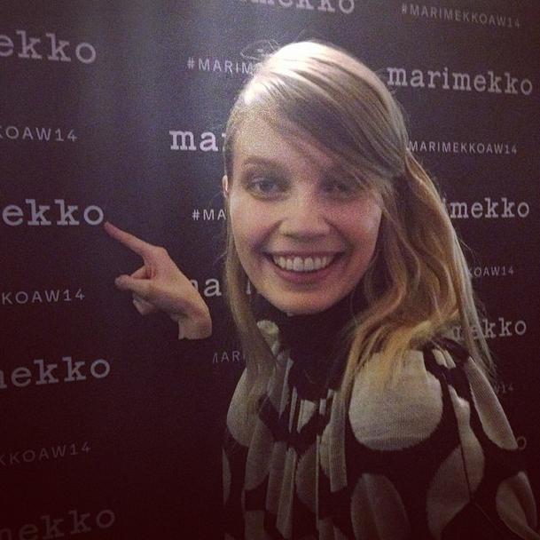 News from Marimekko AW14 show
