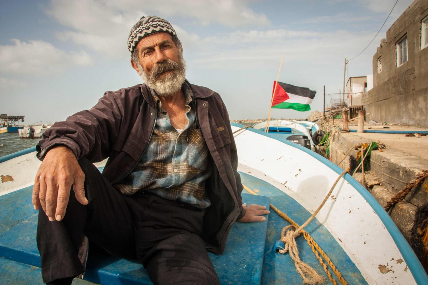 On freedom, fishing and fathers, Gaza and Finland