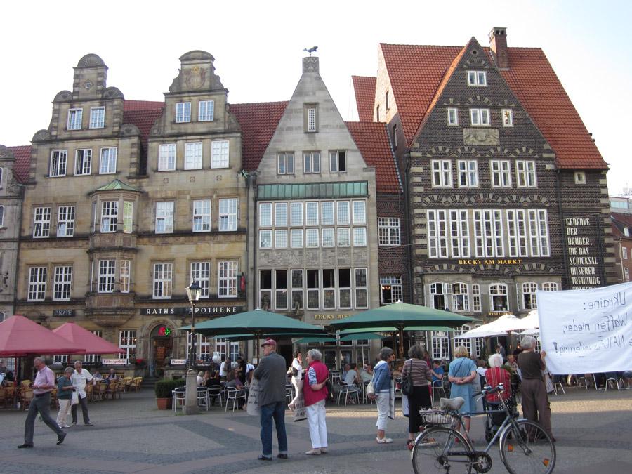 Lyhyt syysloma Bremenissä