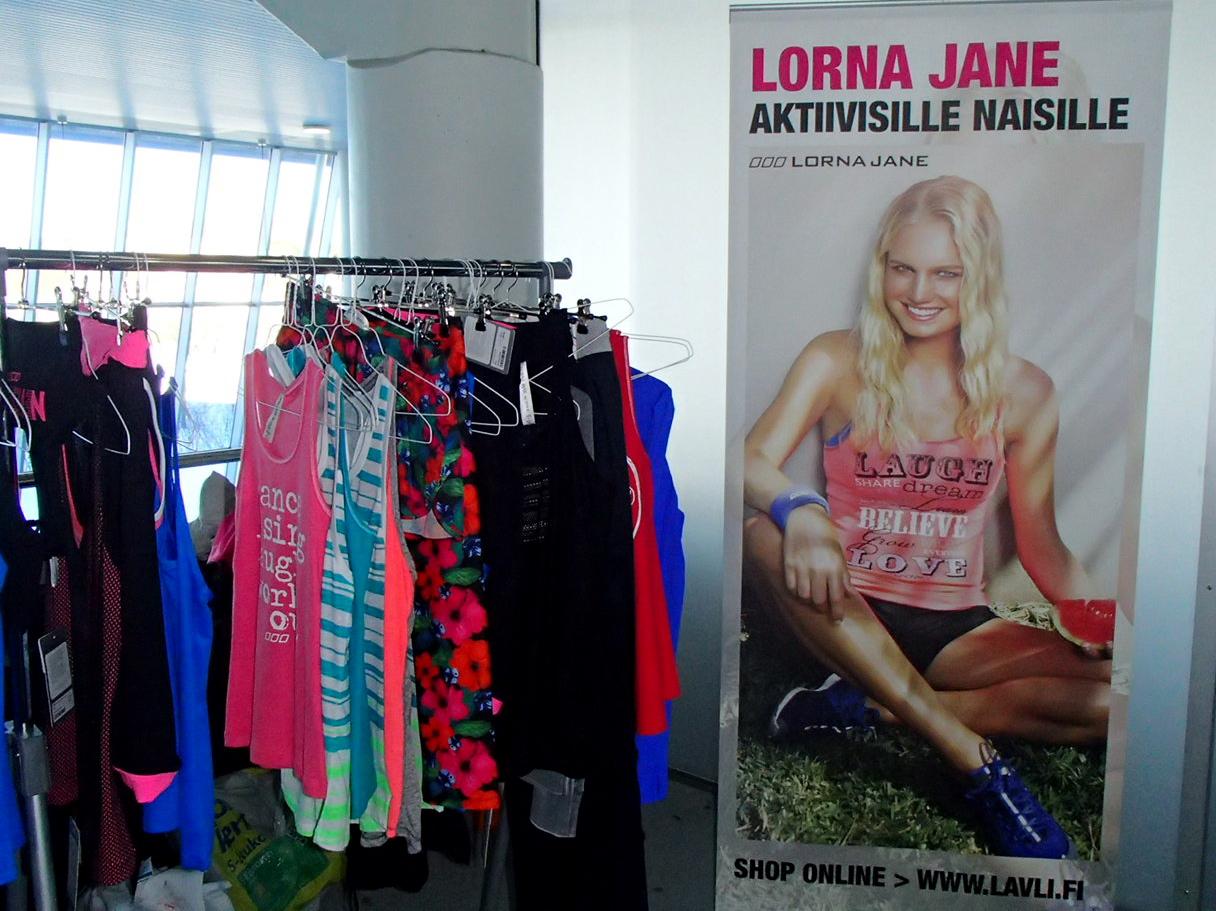 Hot hot hot – testissä pilates, stretching & Lorna Jane