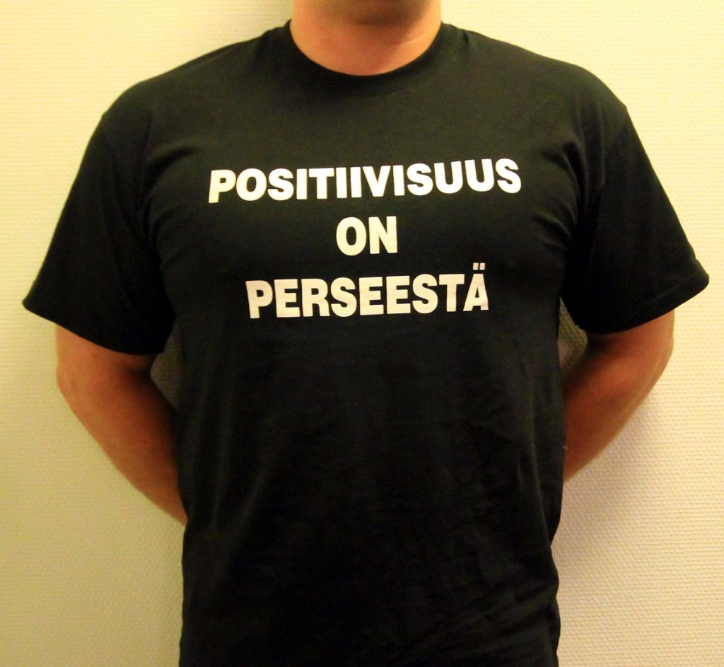 Positiivisuus on perseestä