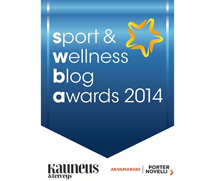 Sport & Wellness Blog Awards & Fitness Führer 2 vuotta!!!