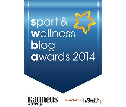 Muistutus Sport & Wellness Blog Awards -äänestyksestä ja ARVONTA!