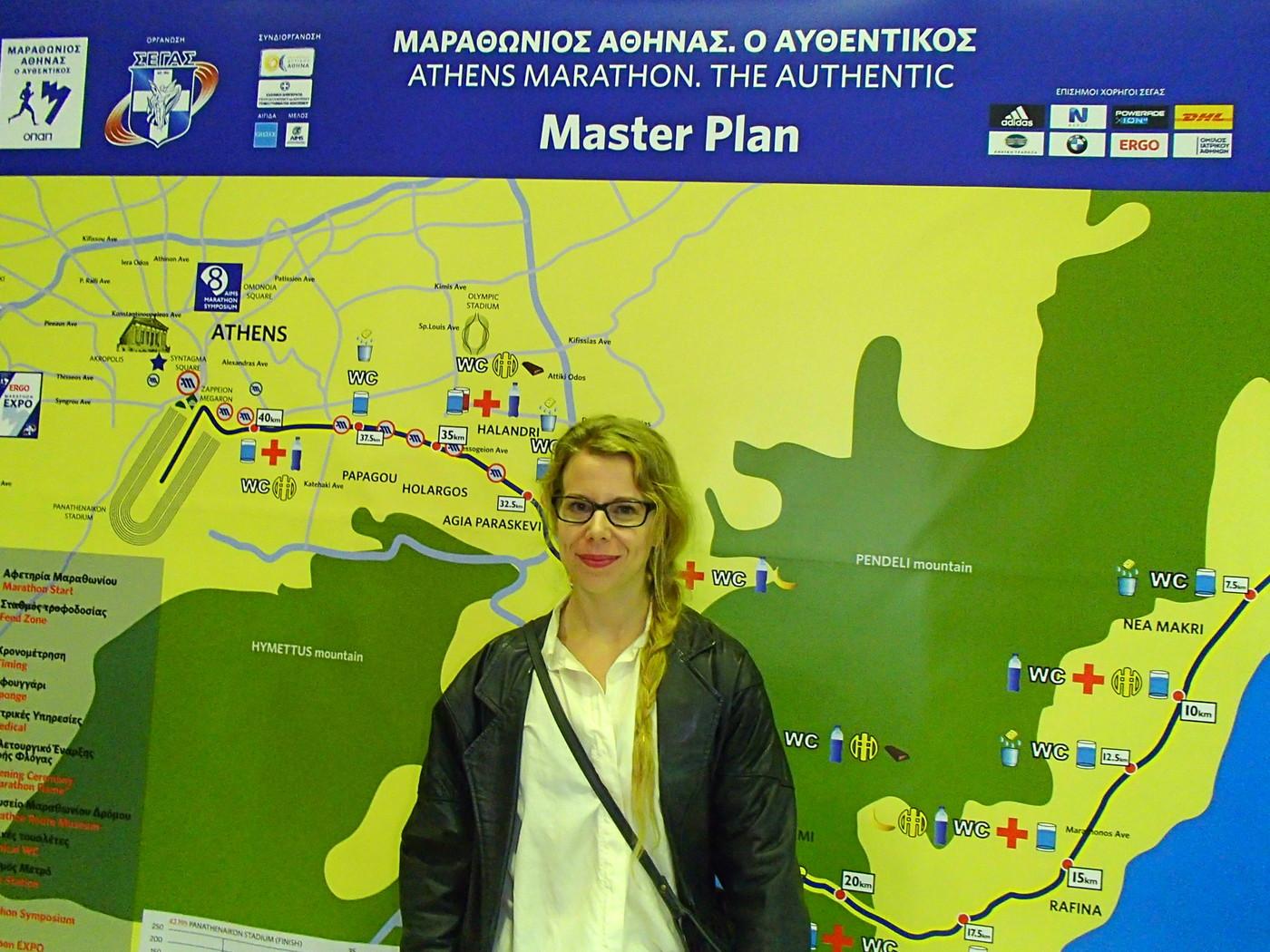 Kokemuksia Ateenan maratonin järjestelyistä