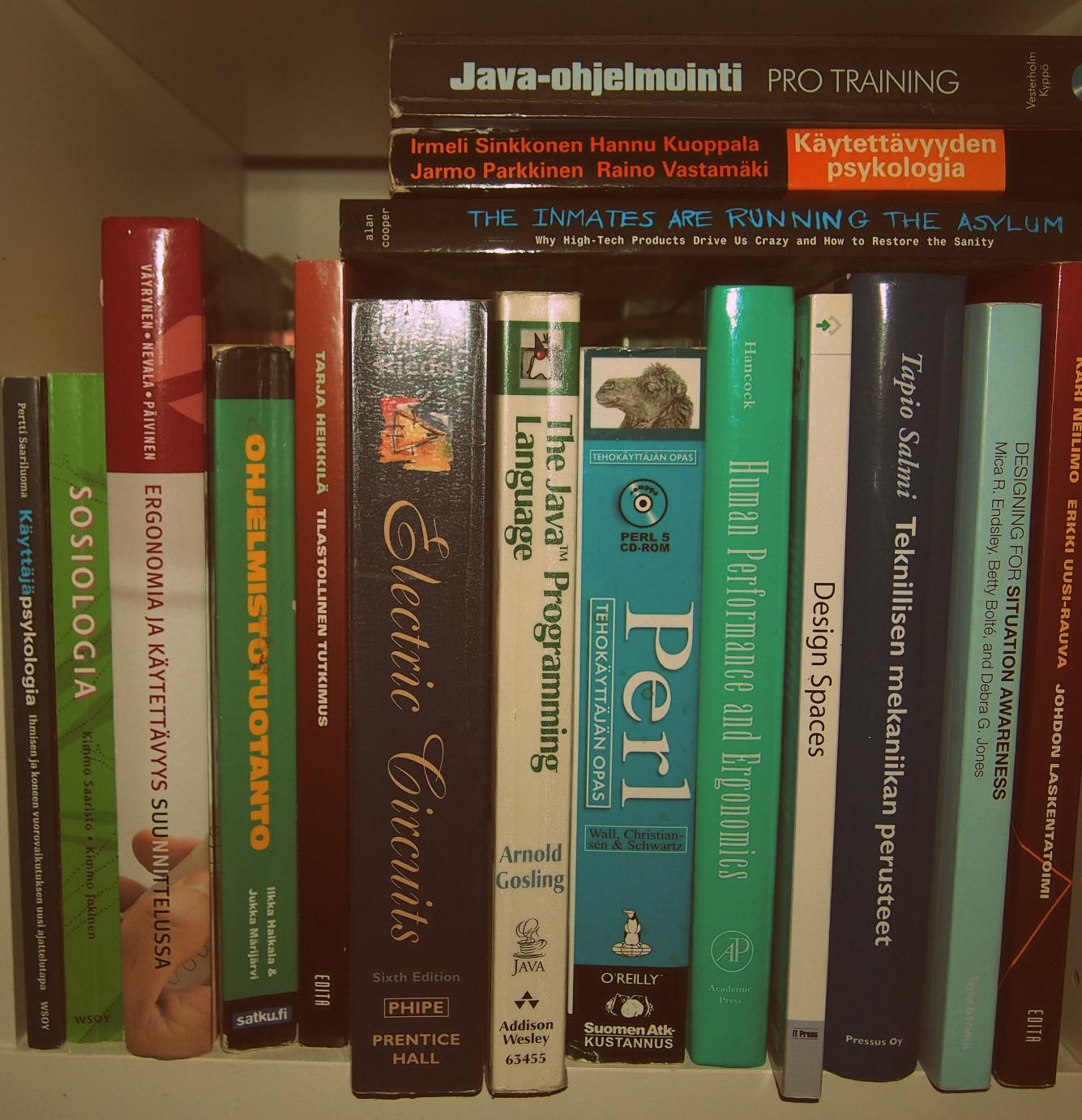 Kirja, toinen ja kolmaskin