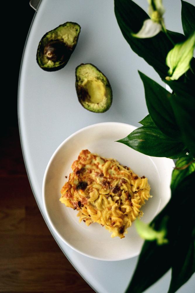 Vegaani lasagne