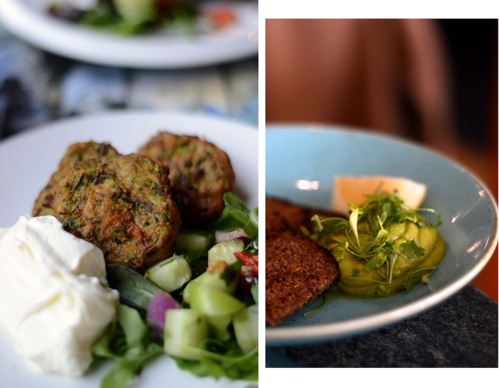 Falafel ja avokado tahna