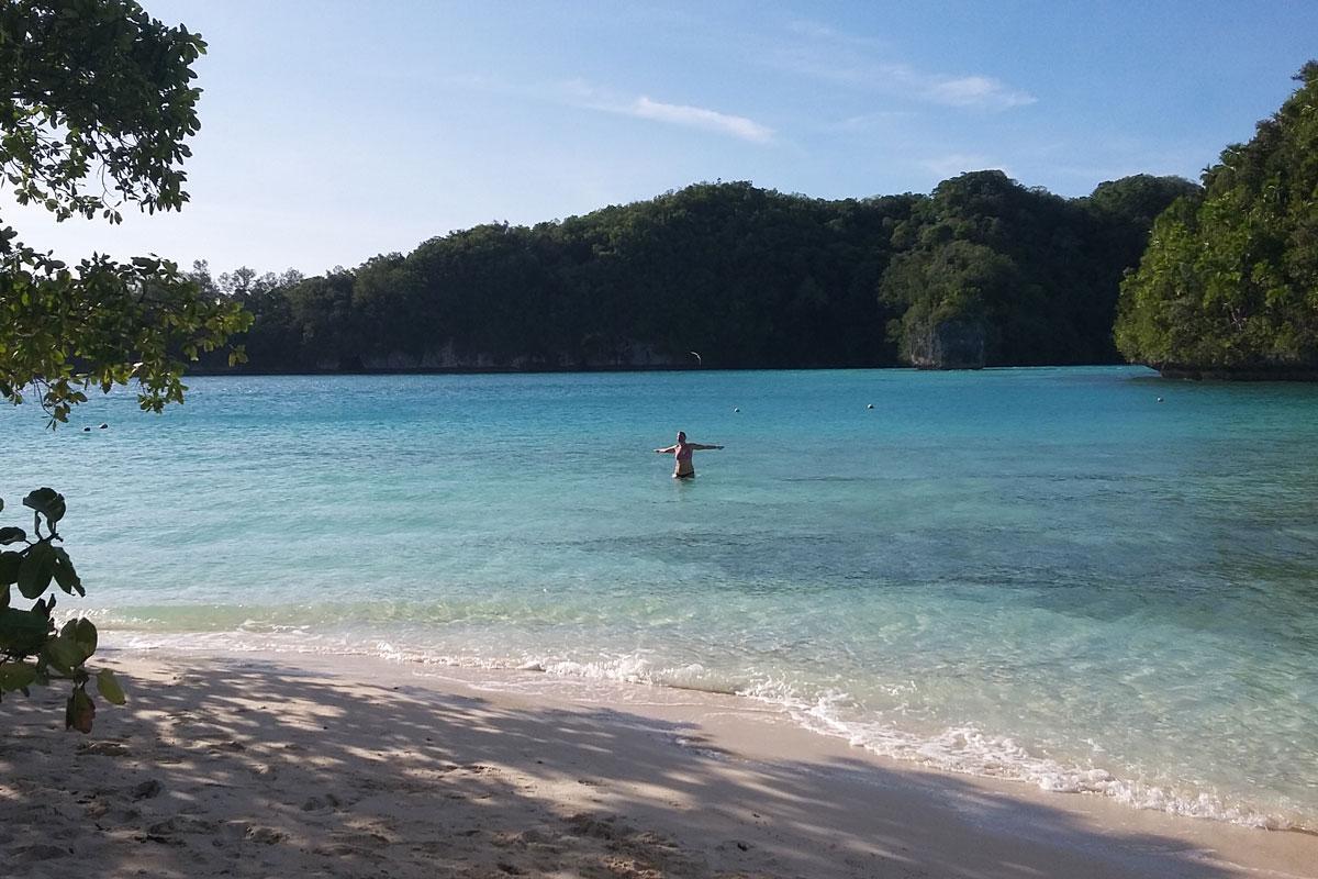 Päiväretki Rock Island -saarille, Palau