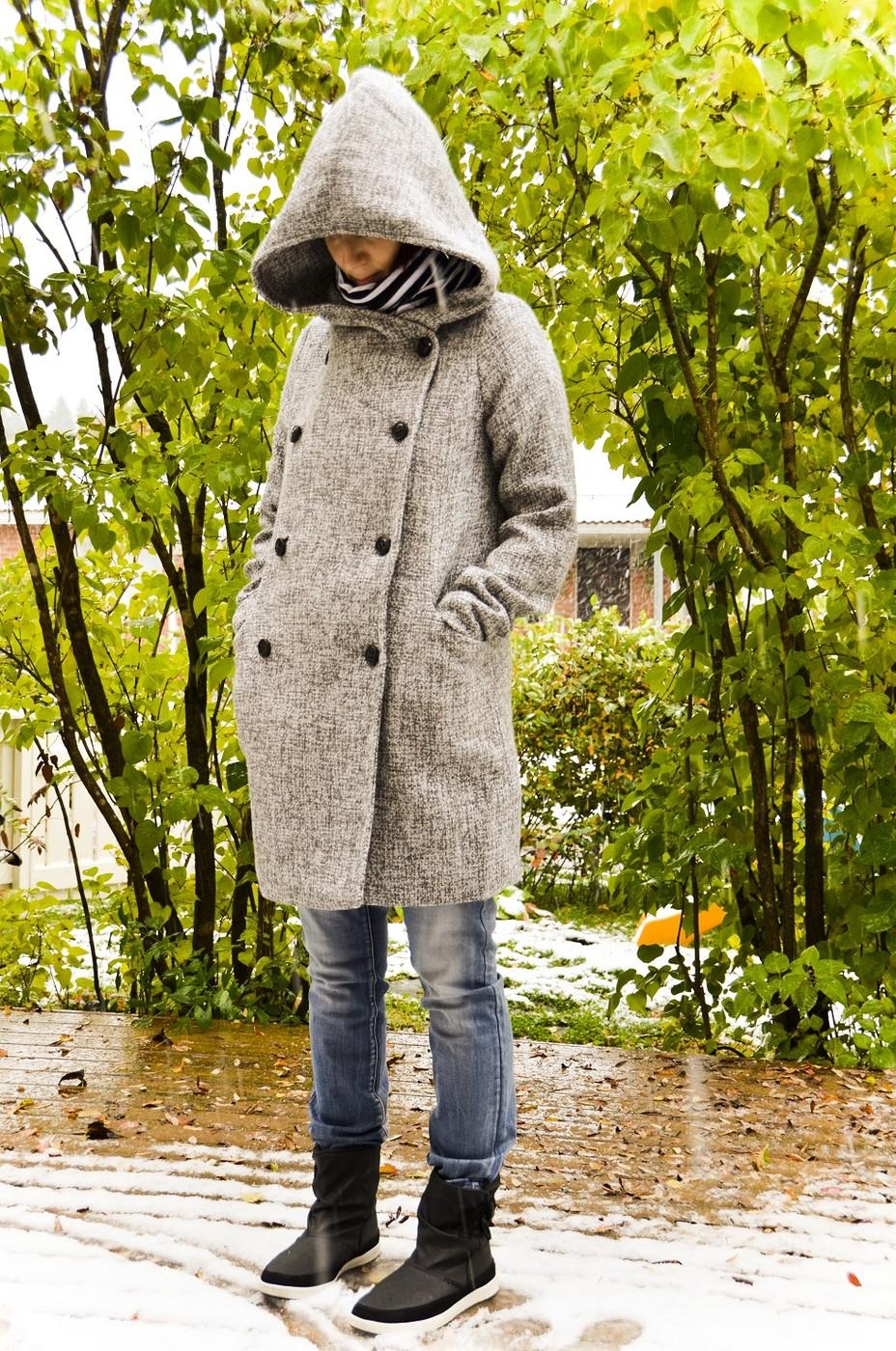 Kaksi uutta -lumi ja takki