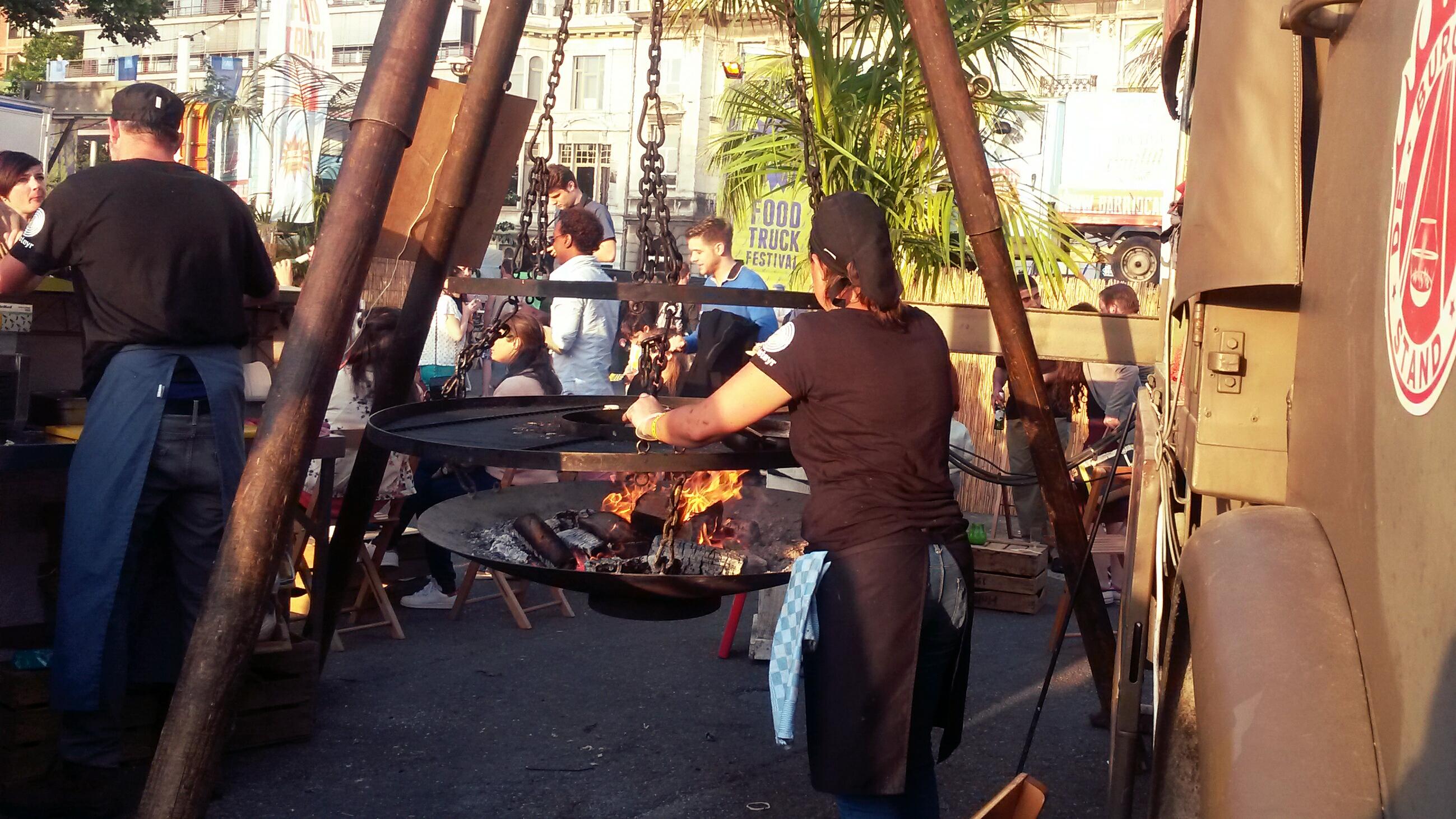 De burgerlijke stand, barrio cantina food truck festival, antwerpen