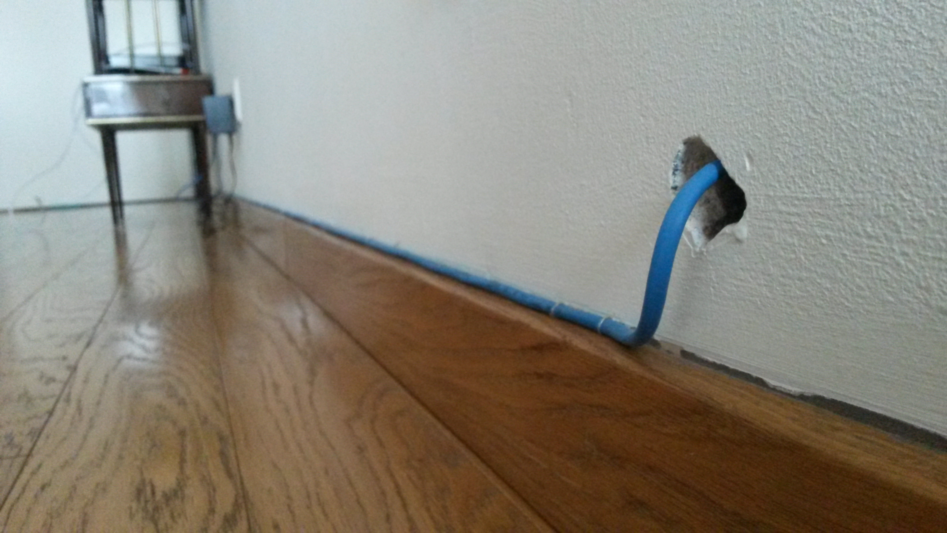 blue internet cable