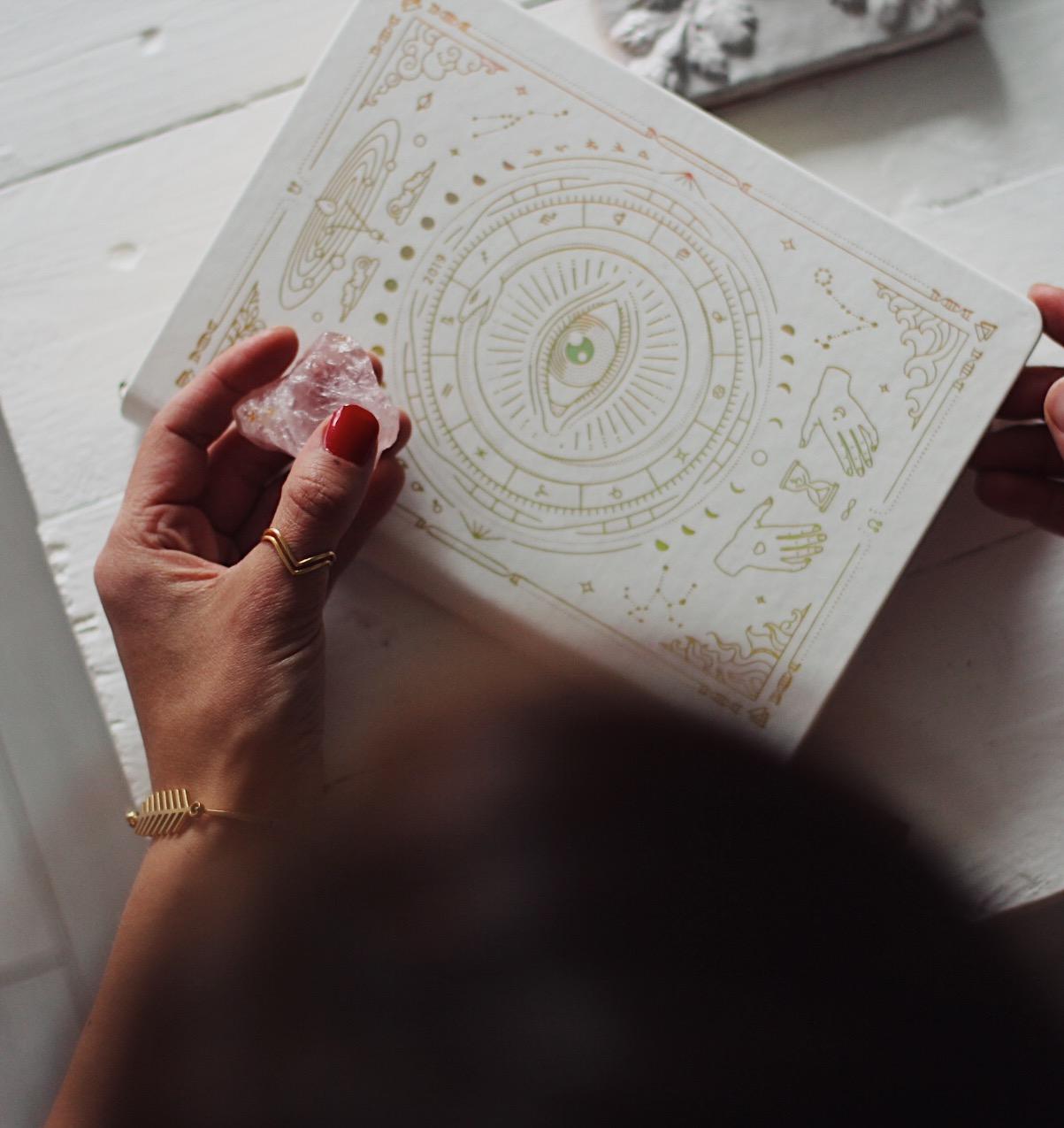 Astrologiakalenteri, kuun vaiheita ja manifestointia