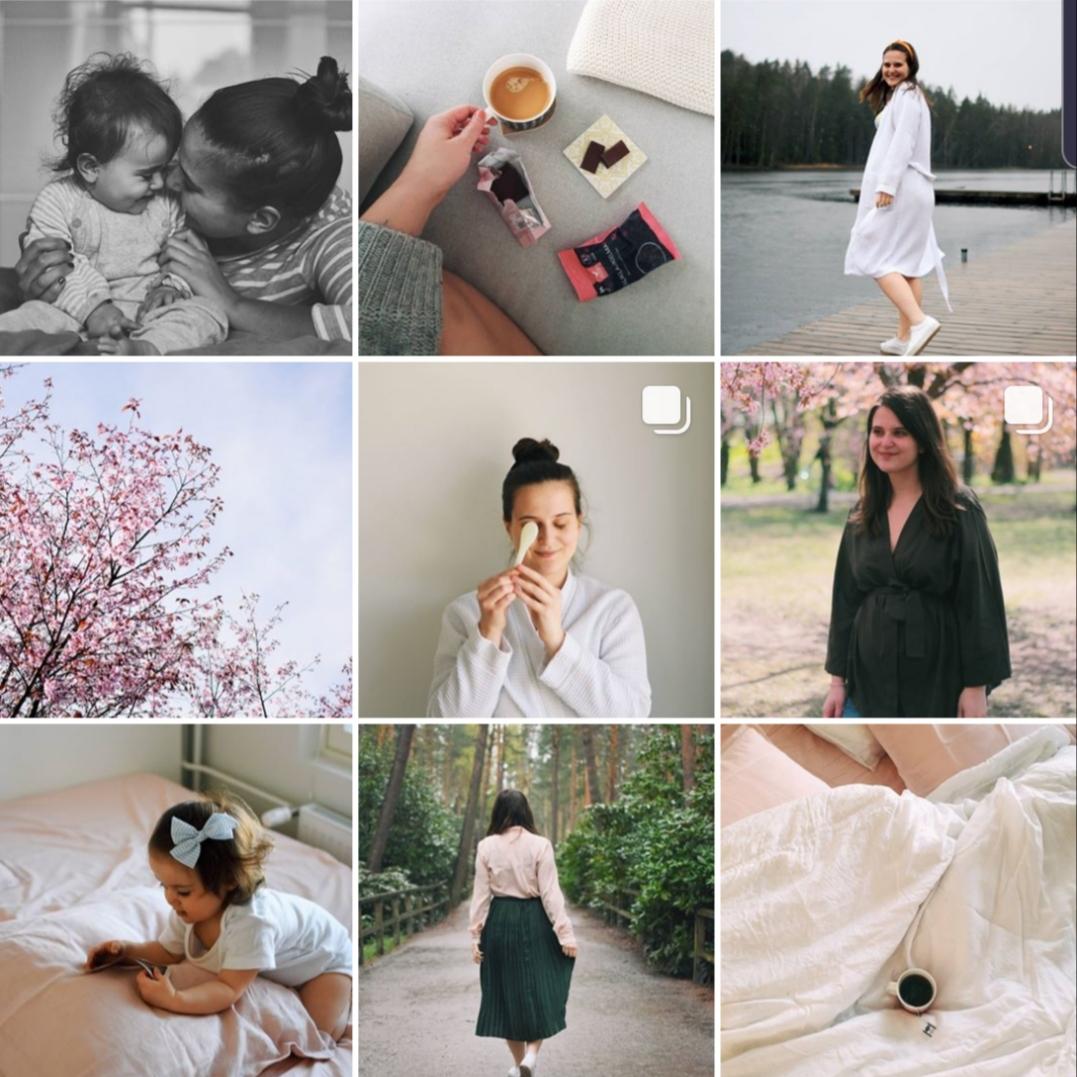 20 000 blogissa, alle 3 000 Instagramissa