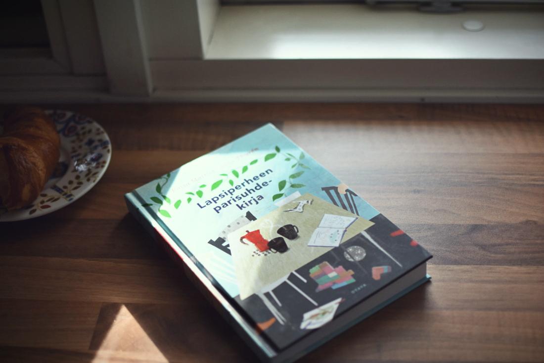 Ensimmäinen äitiyslomalla lukemani kirja: Lapsiperheen parisuhdekirja