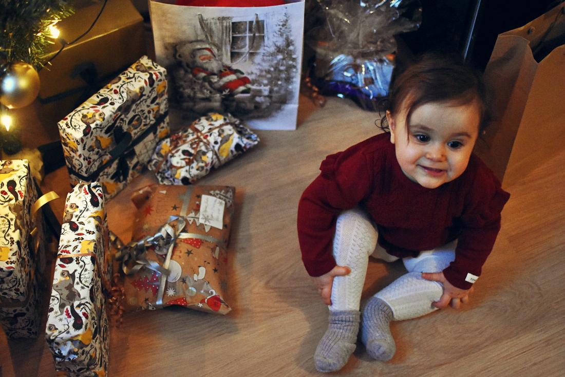 Vauvan eka joulu