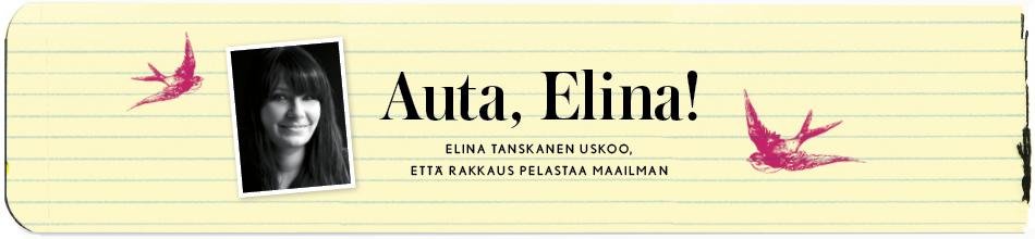 Auta, Elina!