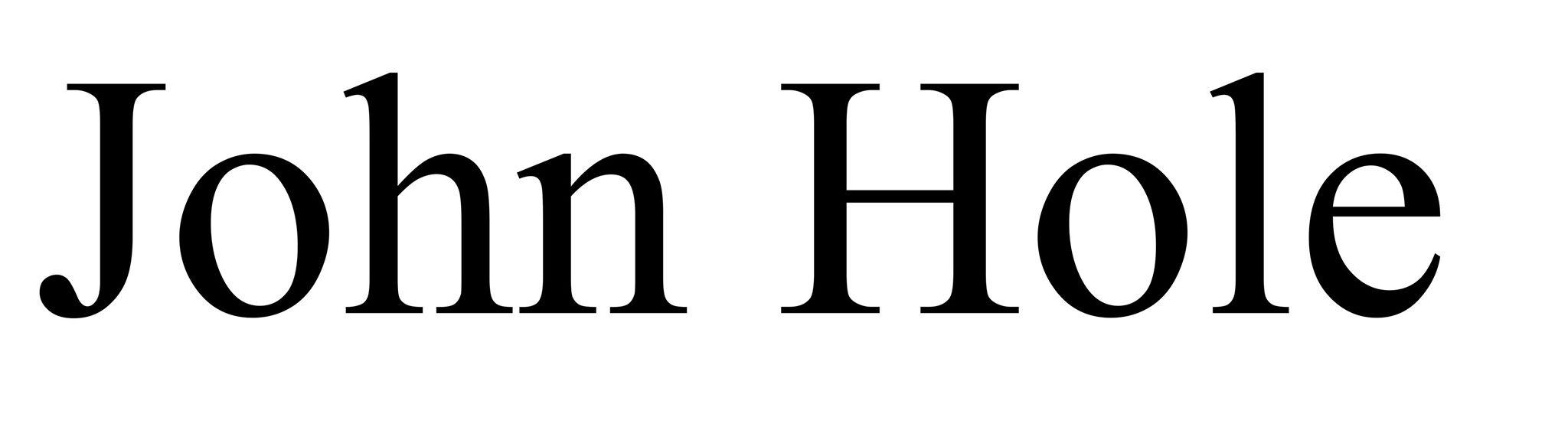 John Hole