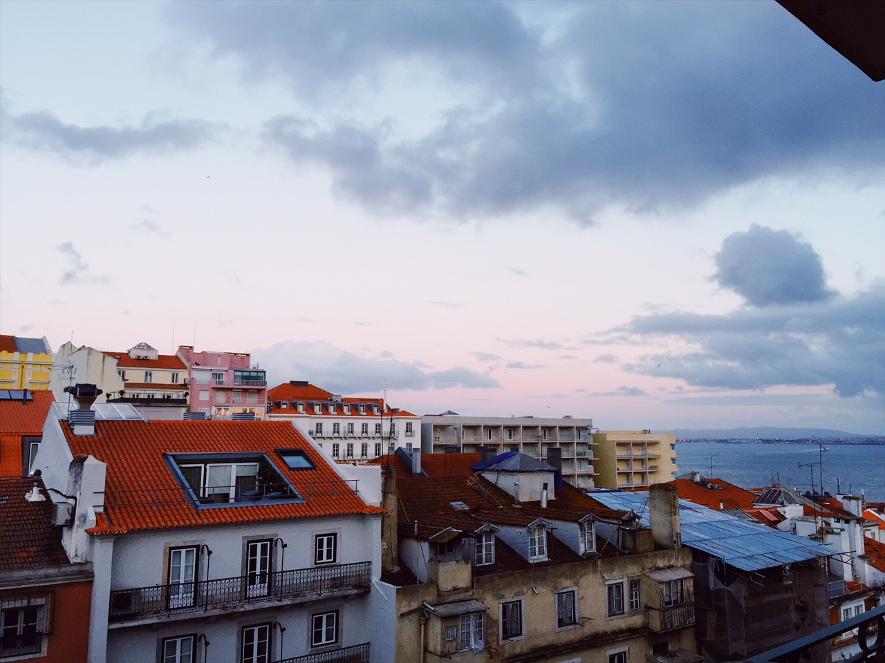 Kauniiden värisävyjen kaupunki