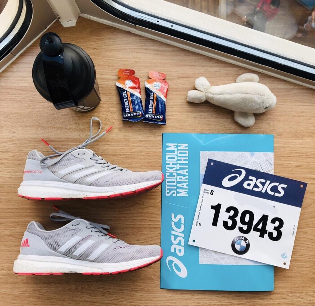 Tukholman maraton - maratonlaiva