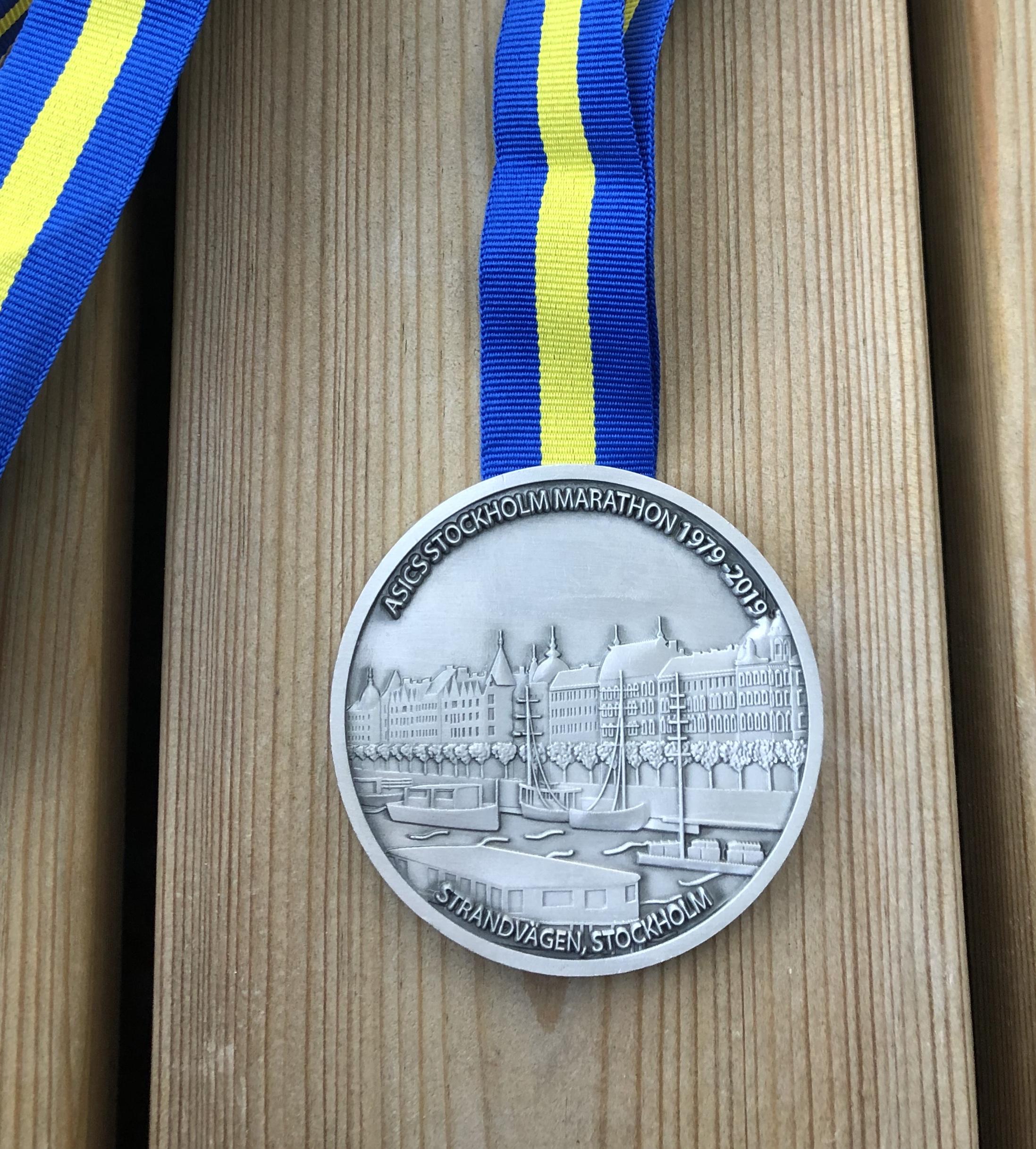 Asics Stockholm Marathon 2019 mitali